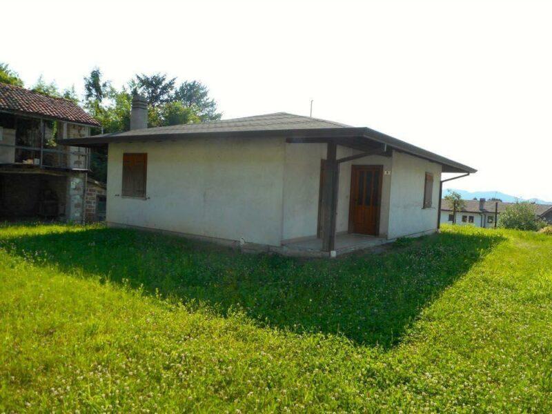 singola casa bicamere su piano unico Cavasso Nuovo